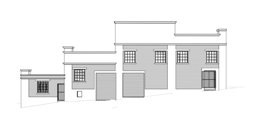 22 Agnes Street, Fortitude Valley. Planning Image: Peddle and Potter