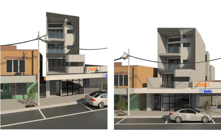 237 Melville Road, Brunswick West. Planning Image: BB Design Group