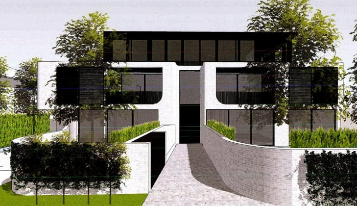 292-294 Hawthorn Road, Caulfield. Planning image: Tecture