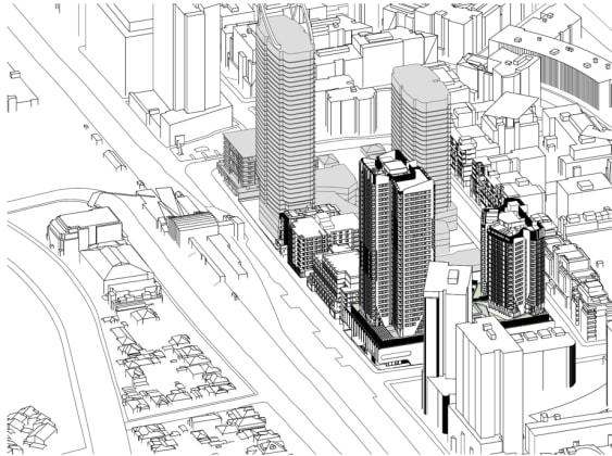 34 Walker Street Rhodes, Planning Image: SJB