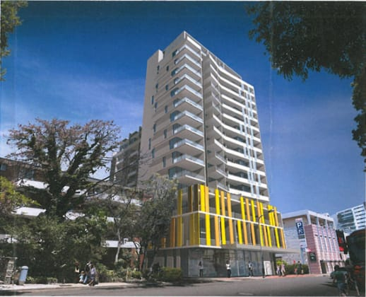36-38 Victoria Street, Burwood. Planning Image Olsson & Accociates Architects