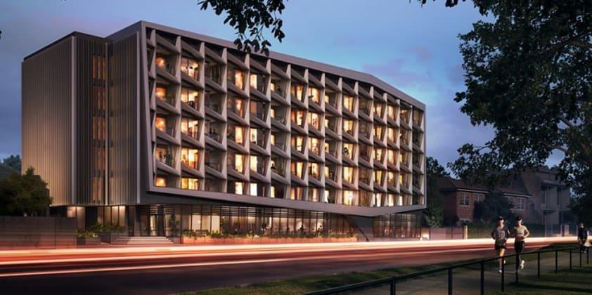 381 Cremorne - 381 Punt Road, Cremorne. Image © 381cremorne.com.au