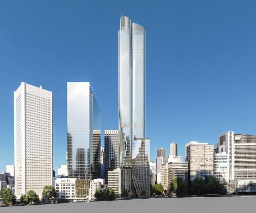 435 Bourke Street, Melbourne. Planning image: Bates Smart