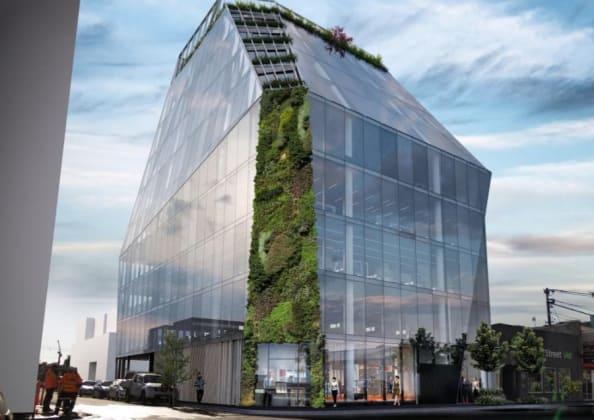 Planning image: Bruce Henderson Architects
