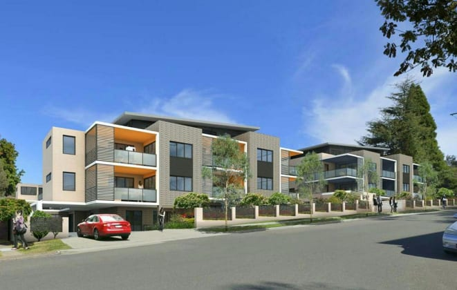 6-12 Maida Road, Epping. Planning image: Zhinar Architects