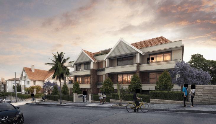 6 Hayes Street, Neutral Bay. Image: Planning docs PBD Architects