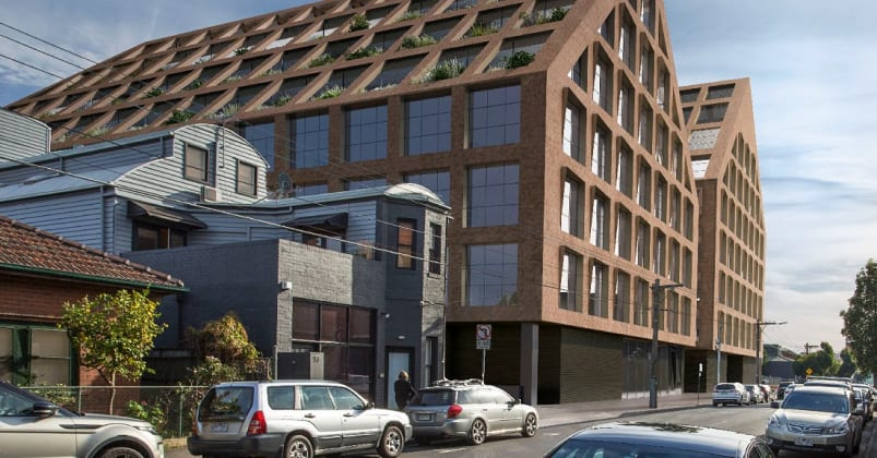 60-88 Cremorne Street, Cremorne. Planning image: HASSELL