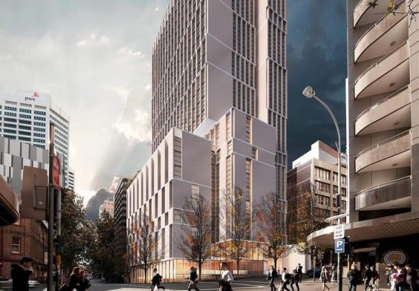 286-296 Sussex Street, Sydney. Image: Smart Design Studio