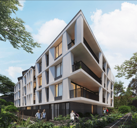 63 Carter Street, Cammeray. Planning Image: DKO Architecture