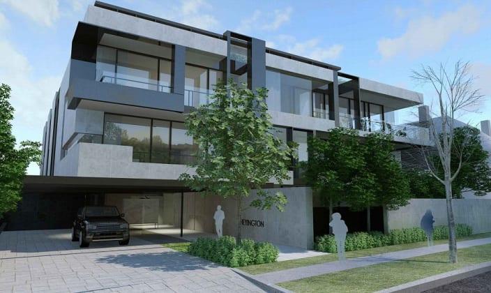 63 Heyington Place, Toorak. Planning image: Architecton