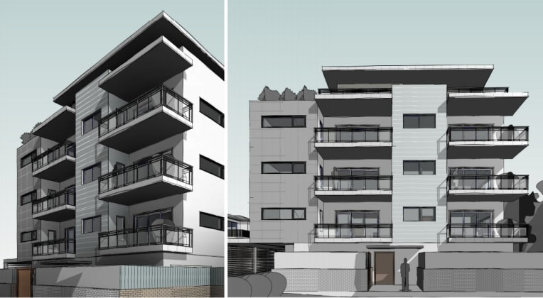 67-69 Clyde Street, Guildford. Planning image: Baini Design