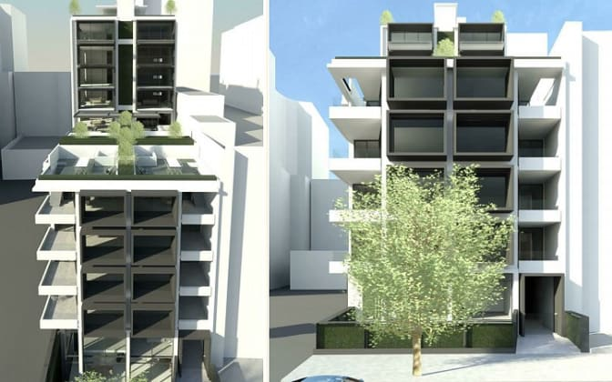 67-69 Palmerston Crescent, South Melbourne. Planning image: MMA Architecture