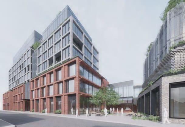 68-88 Green Street, Cremorne. Planning Image: Bates Smart
