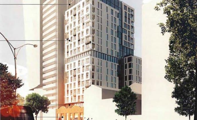 684-688 Elizabeth Street, Melbourne. Planning image: DKO Architecture