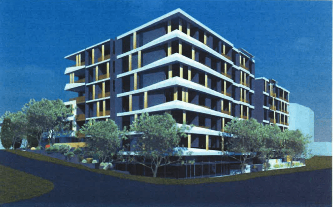 723-731 Victoria Road, Ryde. Planning Image: CD Architects