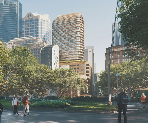 77 Market Street. Planning Image: FJMT