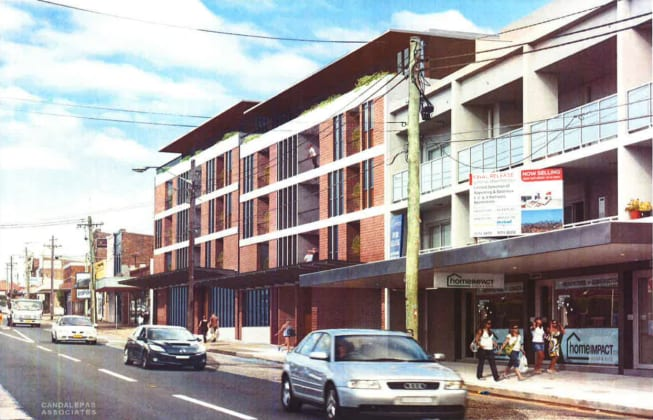 801-807 New Canterbury Road, Dulwich Hill. Planning Image: Candalepas Associates