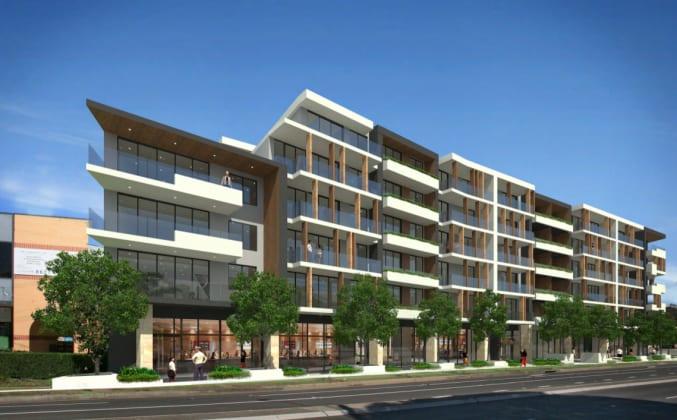 85 Victoria Road, Parramatta. Planning image: PTI Architecture