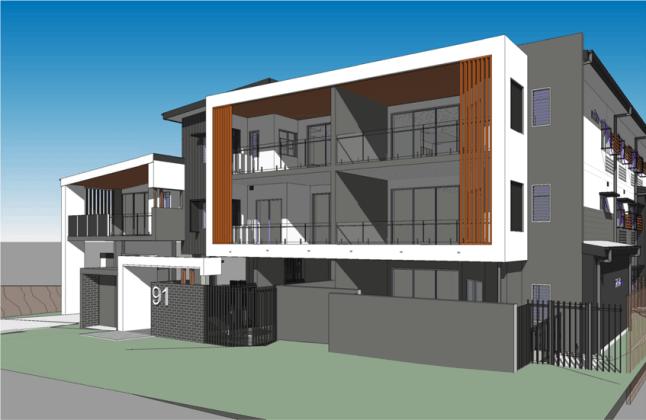 89-91 Hall Street, Image: Planning doc CDI Architects