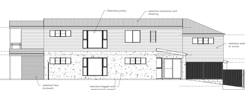 9 Henderson Road, Everton Hills. Planning Image: EDB Consultants
