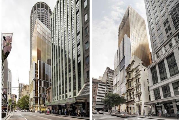Adina Grand, 280 George Street, Sydney. Image: JPW Architects