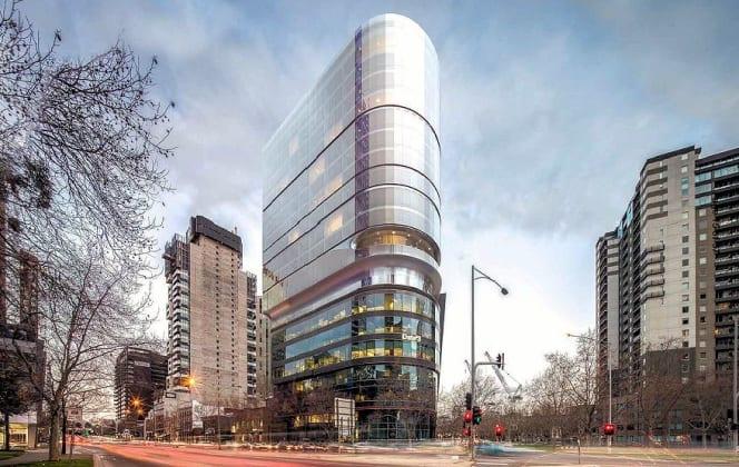 Adina Hotel - 55 Southbank Boulevard, Southbank . Planning image: Bates Smart