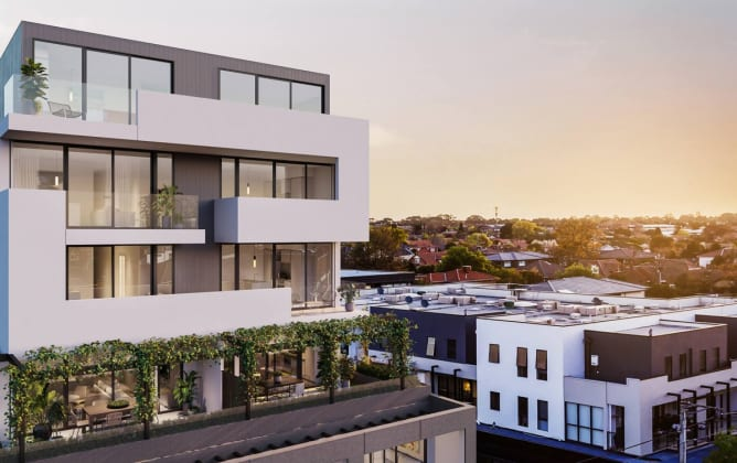 Alba Apartments - 342 Centre Road, Bentleigh. Image: albaapartments.com.au