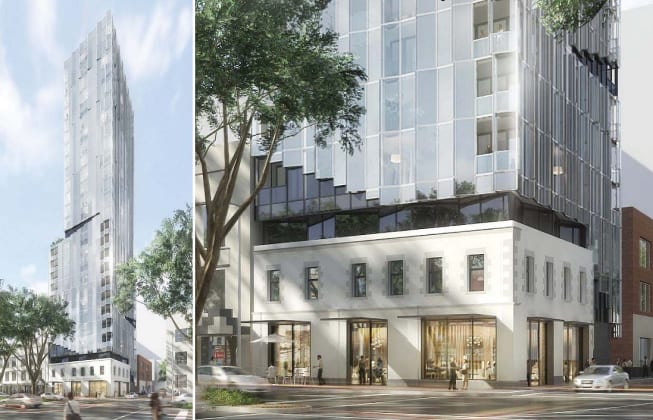 Amber Melbourne - 204 King Street, Melbourne. Planning image: DKO Architecture