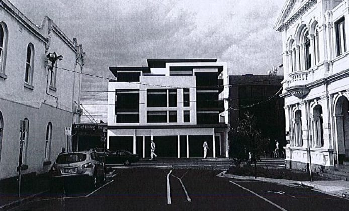 Andisse - 200 High Street, Northcote. Image courtesy Petridis Architects