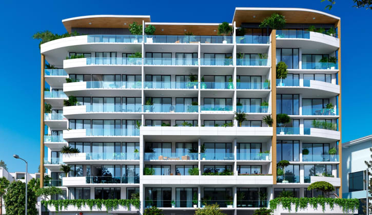 Anika Apartments - 22-24 Banksia Road, Caringbah. Image: Conquest Constructions