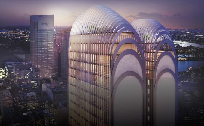 Arc by Crown Group - 161 Clarence Street, Sydney. Image: Crown Group