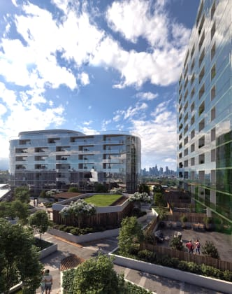 Arden Gardens - 111 Canning Street, North Melbourne. Image: CBD Development