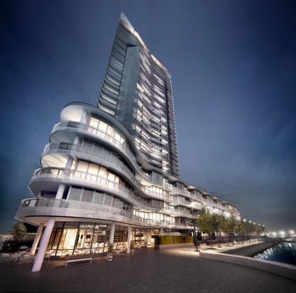 Tower exterior, Render © Mirvac Group
