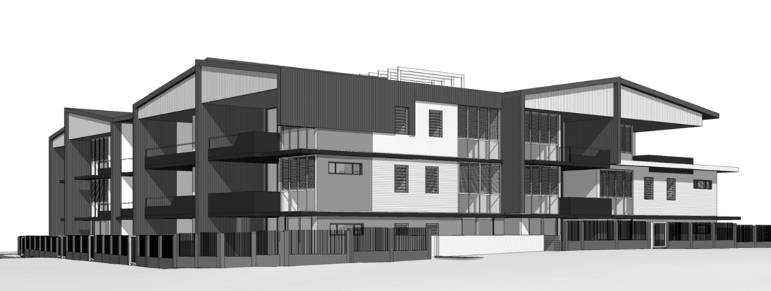 Ballade Residences - 208 Norman Avenue, Norman Park. Image: Planning Mayhills Planning & Architecture