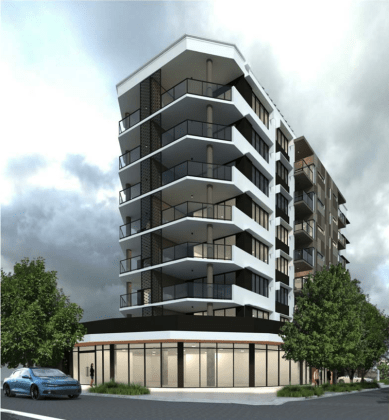 Bay Terrace Apartments - 33 Bay Terrace, Wynnum. Planning Image: AG Architects