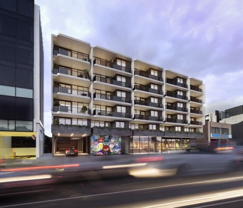 B.E. Apartments - 11 Brunswick Road, Brunswick East. Image: Capital Project Marketing