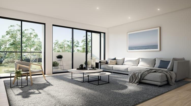 Bellerine Townhomes - 259-263 Bellerine Street, South Geelong. Image: Hatched Media