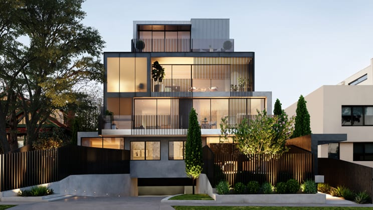 Broadleaf - 1528 Malvern Road, Glen Iris. Image: Lumico Developments