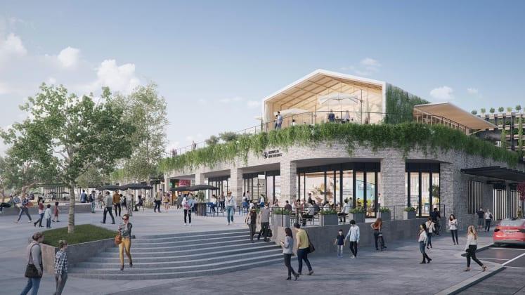 Burwood Brickworks Shopping Centre. Image: Frasers Property