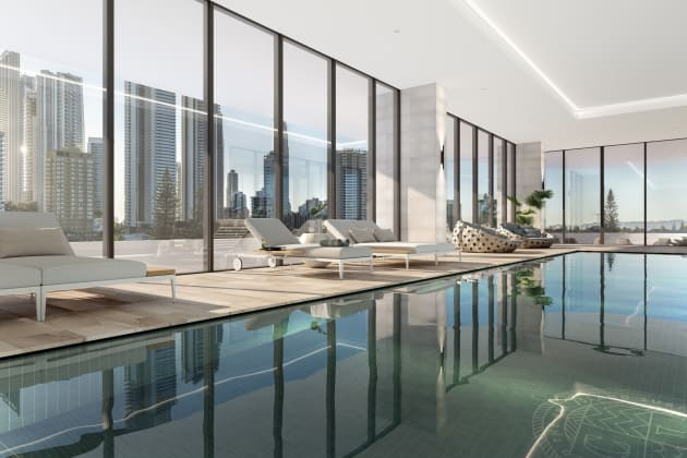 Chevron One - 36-44 Stanhill Drive, Surfers Paradise. Image: Benson Property Group
