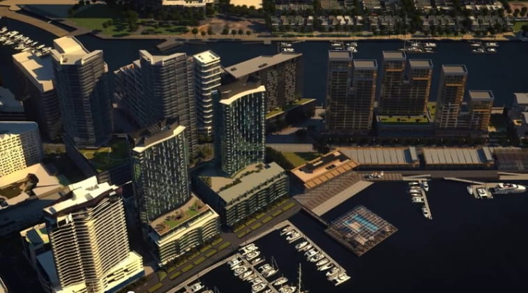 Concavo - 8 Waterside Place, Docklands. Image: Lendlease