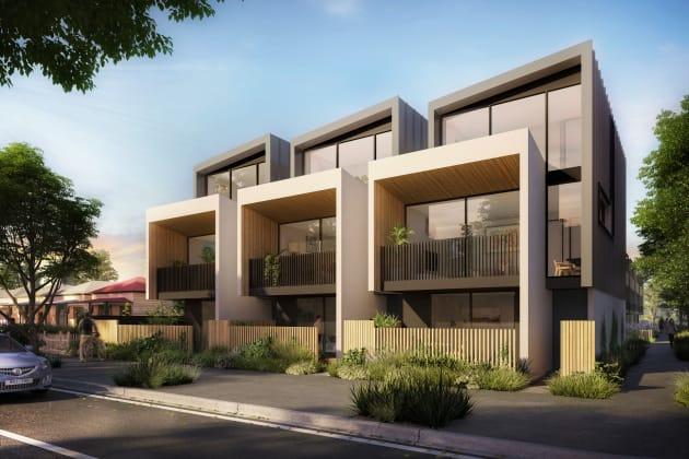 Cowper Residences view, Footscray