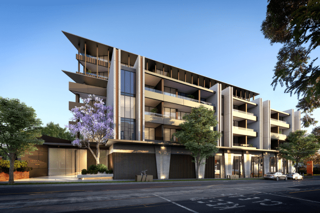 Derby Place - 369 High Street, Kew - Image © Crema Group
