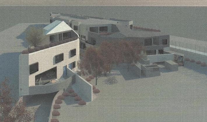 31 Leamington Crescent, Caulfiled East. Planning image: BG Architecture