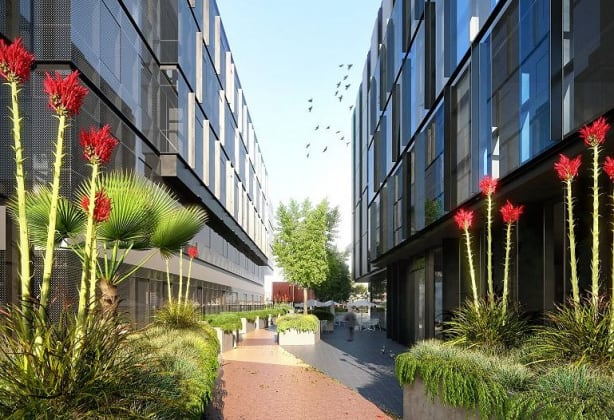 Element Melbourne Richmond - 588 Swan Street, Richmond. Image: Rothelowman