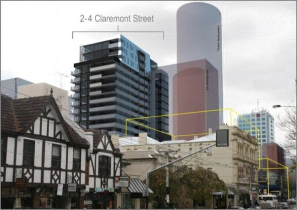 Ella Apartments - 2 Claremont Street, South Yarra. Image courtesy Ratio Consultants