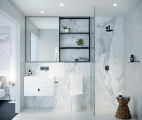 Embassy - Bathroom. Image: FKD