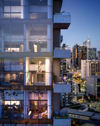 Escala NewQuay - 375-381 Docklands Drive, Docklands. Image: MAB Corporation