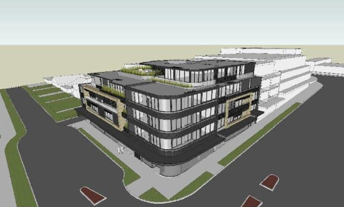 46-50 Strathallen Avenue, Northbridge. Planning image: PBD Architects