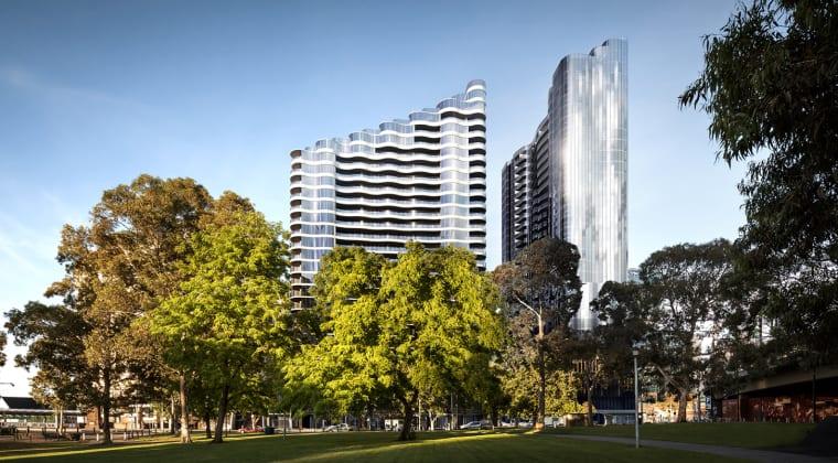 Flinders Bank - 7-23 Spencer Street, Melbourne. Image: Century Group Aus